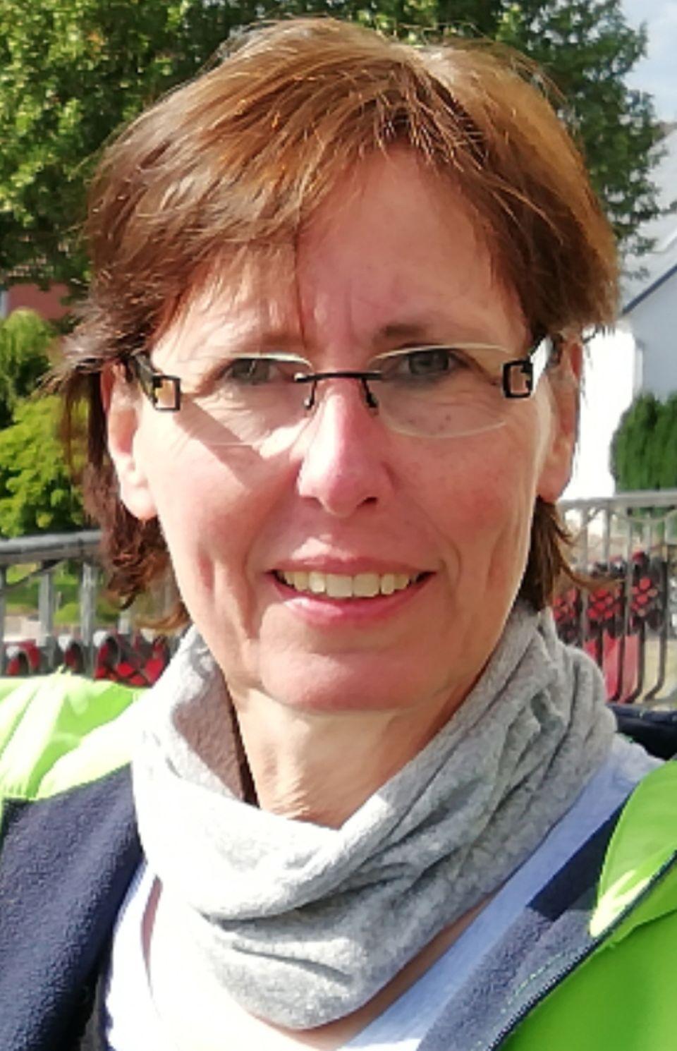 Carola Pöppelmann (Leitung Sozialer Dienst) vom Johanniter-Stift Münster