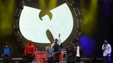 Das Zeichen der Hip-Hop-Gruppe Wu-Tang-Clan kann für eine Fledermaus gehalten werden