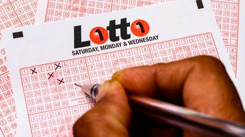 Ein australischer Lottoschein