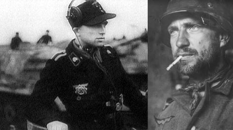 Kurt Knispel legte wenig Wert auf die Kleidungsstandards der Wehrmacht.