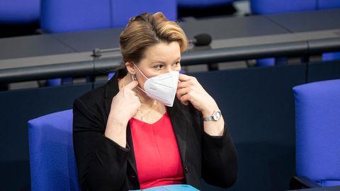 "Franziska Giffey, Bundesfamilienministerin, fordert ""Kita-Ampel""."