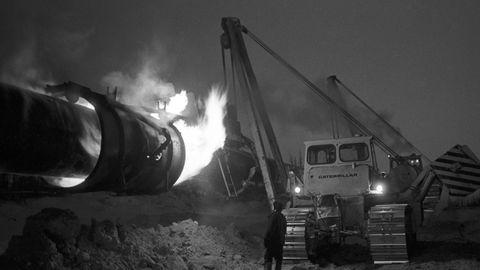 Nadym-Punga Gas-Pipeline