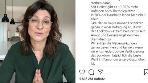 Marlene Lufen auf Instagram