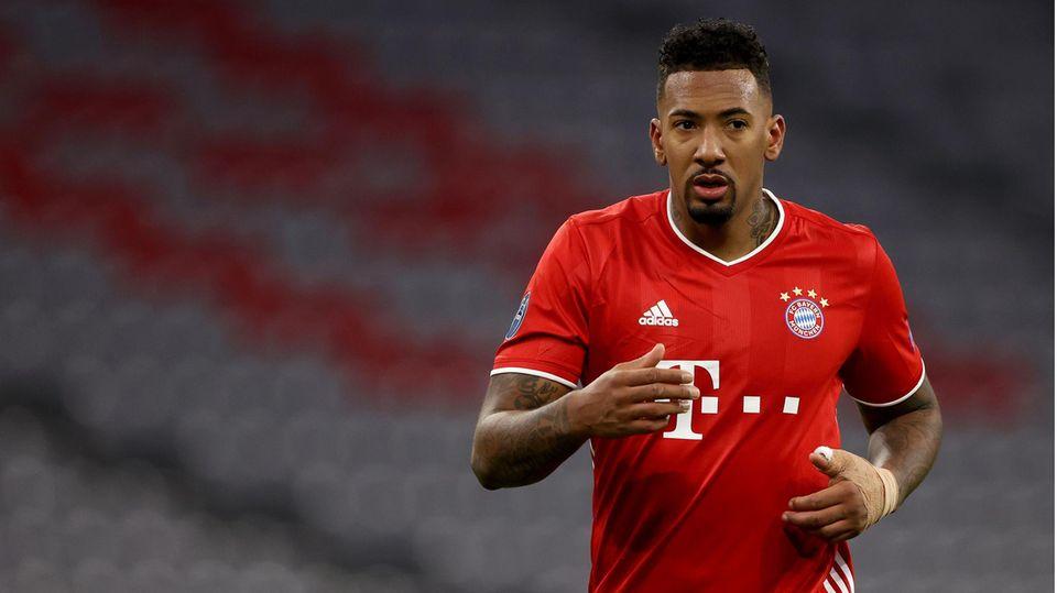 Jérôme Boateng vom FC Bayern München