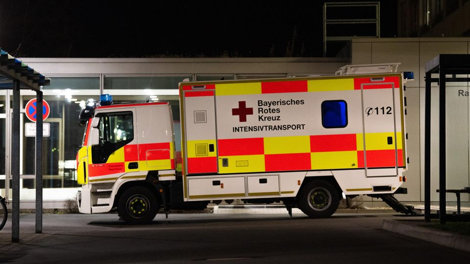 Krankenwagen in Nürnberg