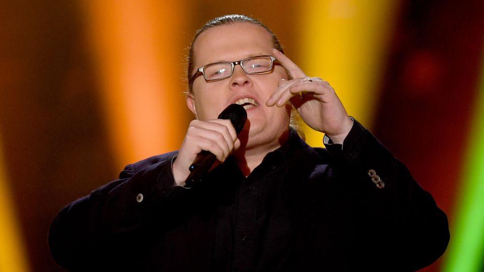 Angelo Kelly bei einem TV-Auftritt im Januar 2021