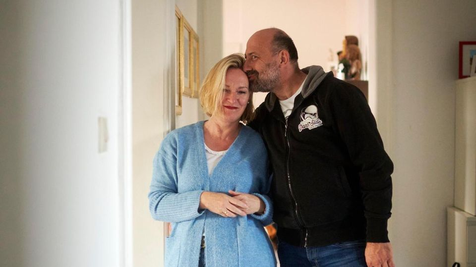 Andrea und Landolf Bornemann (r.) denken immer nur von Moment zu Moment