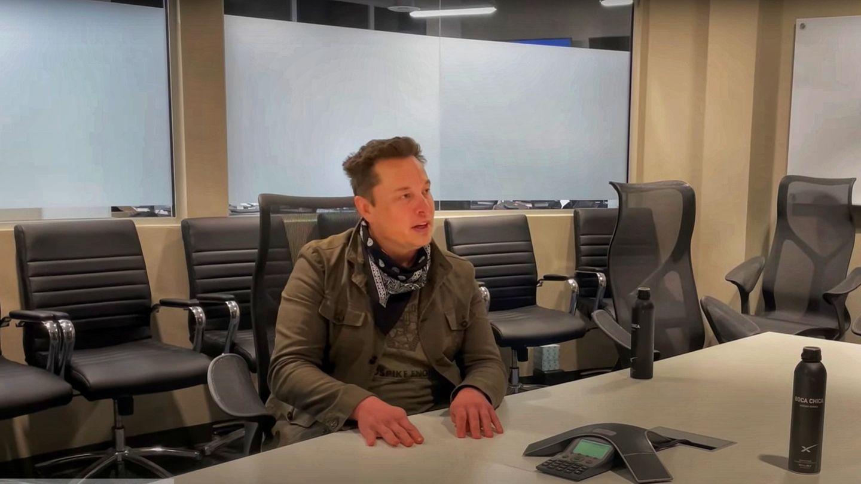 Musk stellte sich50 Minuten dem Tech-Talk.