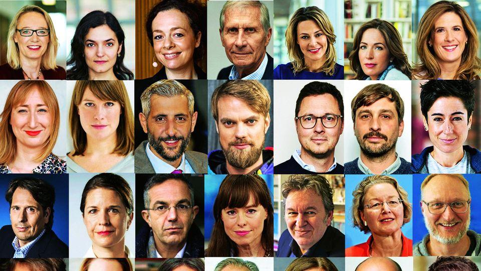 Die diesjährige Jury vom Nannen Preis