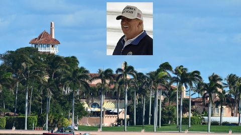 Donald Trumps Club-Resort Mar-a-Lago in Palm Beach im US-Bundesstaat Florida