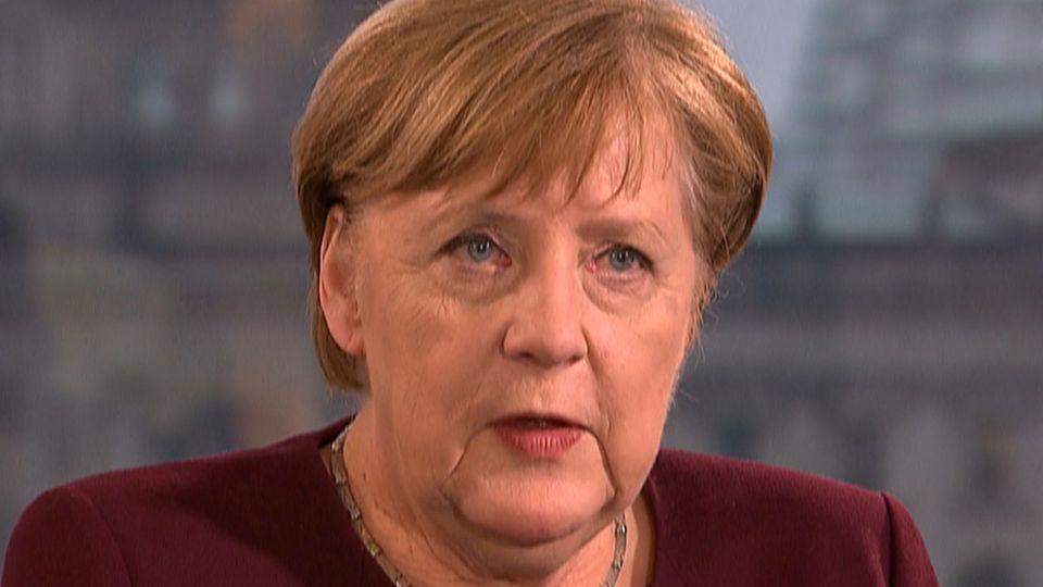 """Merkel im großen Corona-Interview: """"Wie gerne würde ich auch was Gutes verkünden"""""""