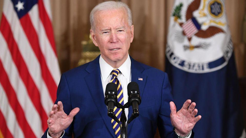 Joe Biden hält seine erste außenpolitische Rede