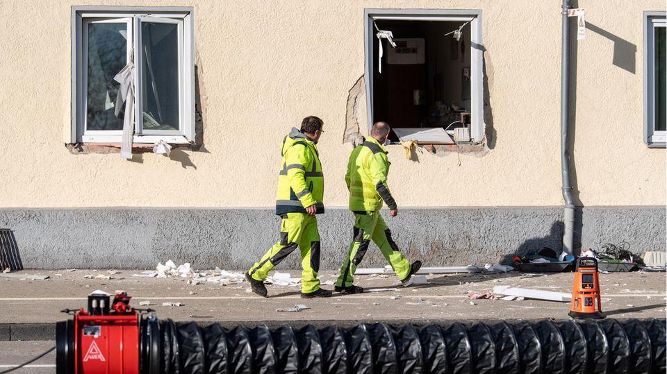 Nachrichten aus Deutschland – Explosion in Memmingen