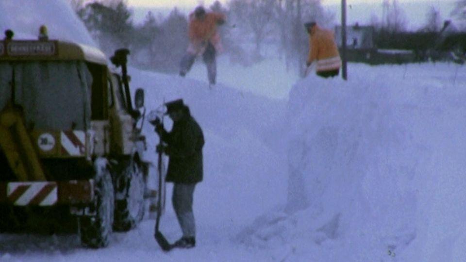 Wetter: Schnee-Chaos von 1978 im Video