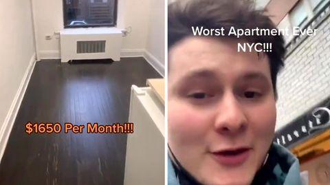 Tiktok-Video: New Yorker Mini-Wohnung wird zum Internethit