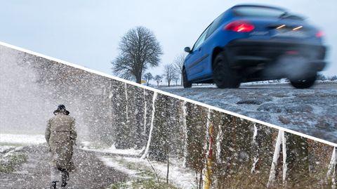 Wetter: Meteorologen warnen vor extremen Schneeverwehungen und Eisregen