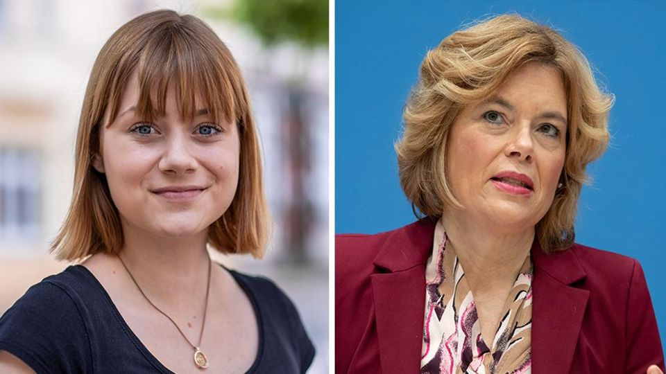 SPD-Politikerin Lilly Blaudszun und ihre CDU-Kollegin Julia Klöckner