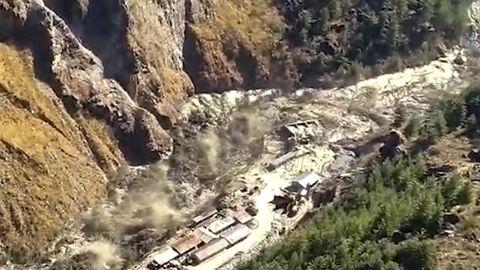 Sturzflut in Indien
