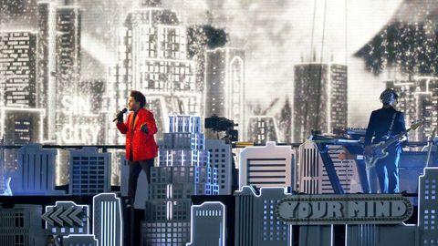 The Weeknd tritt beim Superbowl in einer spektakulären Kulisse auf