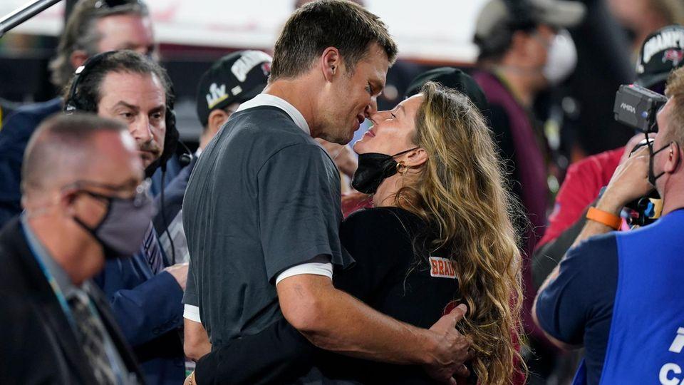 Verliebt wie am ersten Tag: Tom Brady und Gisele Bündchen