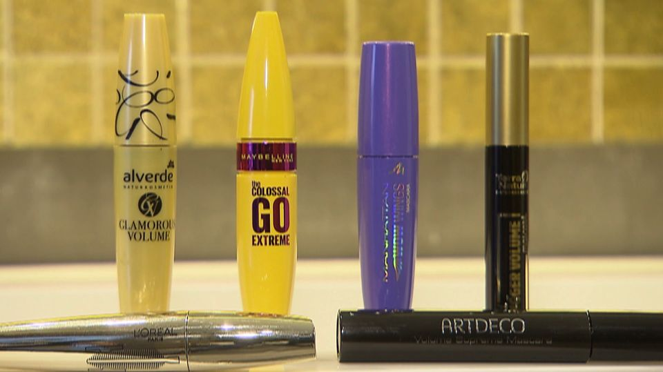 Gift in Beauty Produkten – Mascara getestet
