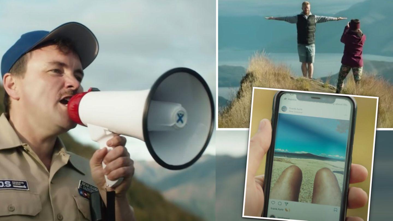 Neuseeland: Tourismus-Werbung macht sich über Influencer ...