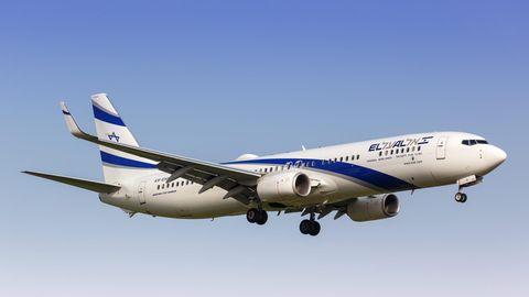 Eine Boeing 737-900ER der israelischen Fluggesellschaft El Al