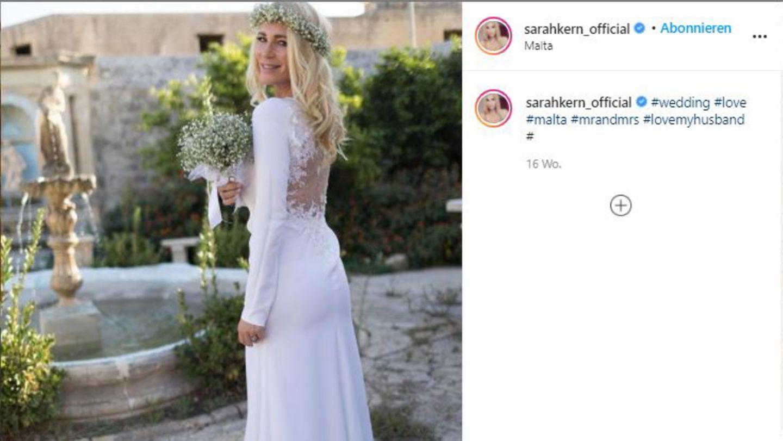 Vip-News: Vier Monate nach der Hochzeit ist Sarah Kern wieder Single