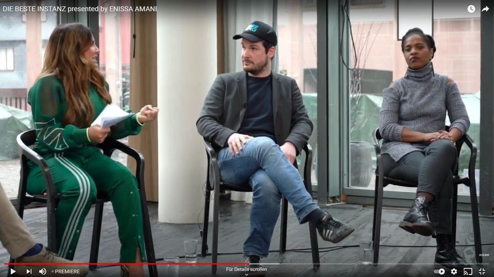 """Enissa Amani startet neue Talkshow """"Die beste Instanz"""""""