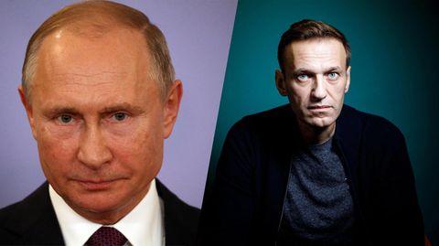 Der Unbeugsame, Oppositionspolitiker Alexej Nawalnyj, und der Autokrat, Präsident Wladimir Putin