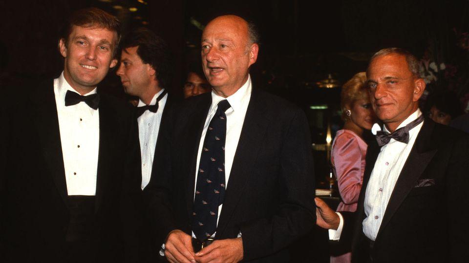 Donald Trump und Roy Cohn