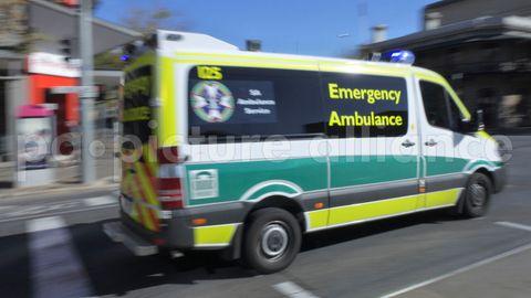 Ein Krankenwagen in Australien