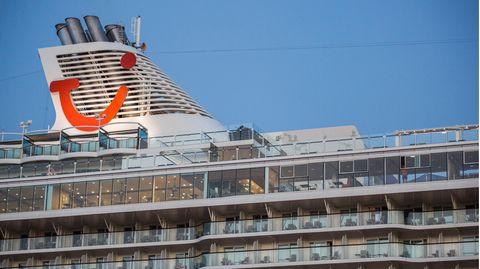 Eines der Schiffe von Tui Cruises