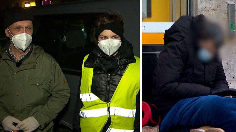 Kältebus unterstützt Obdachlose in Hamburg