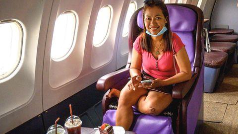 Airbus von Thai Airways: Ungewöhnliches Roadside-Café in Thailand: Hier fliegen die Gäste ohne abzuheben