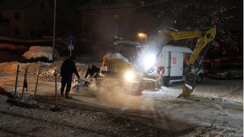 Fernwärmeleitung in Jena