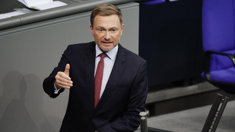FDP-Chef Christian Lindner im Deutschen Bundestag