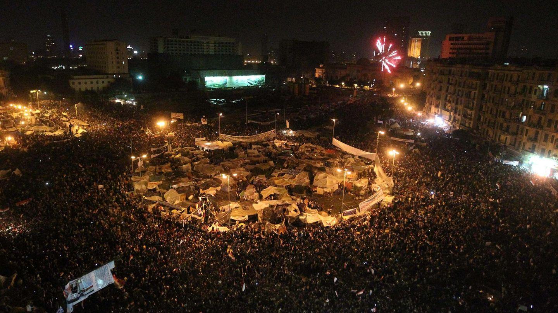 Proteste auf dem Tahrir-Platz in Kairo