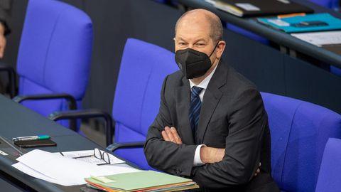 Olaf Scholz (SPD), Bundesminister für Finanzen