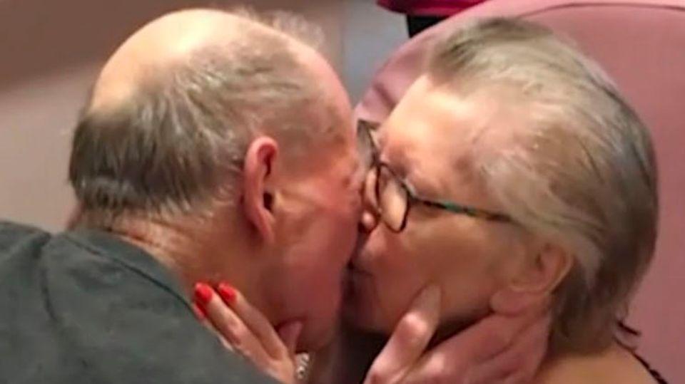 """""""Du bist so wunderschön!"""" – Paar nach acht Monaten wiedervereint"""