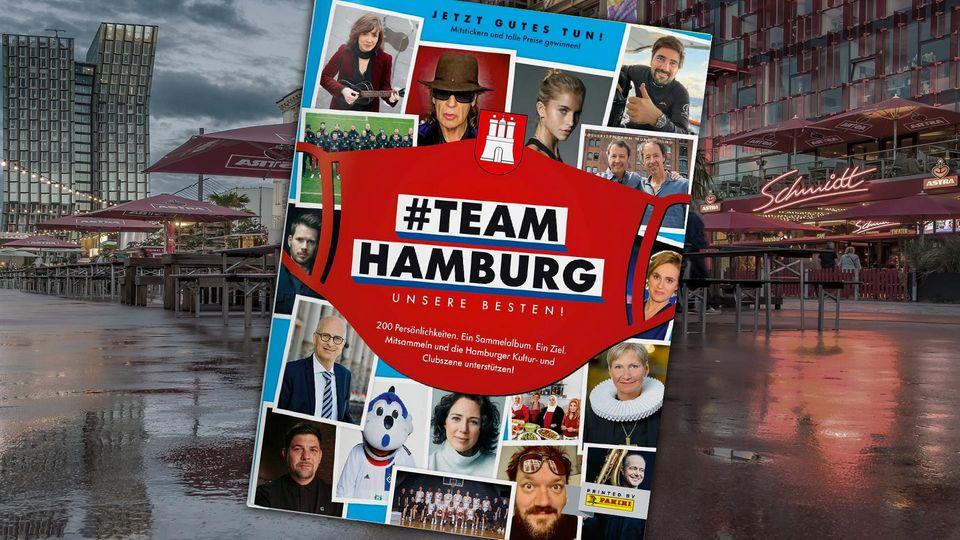 Panini-Album #TeamHamburg