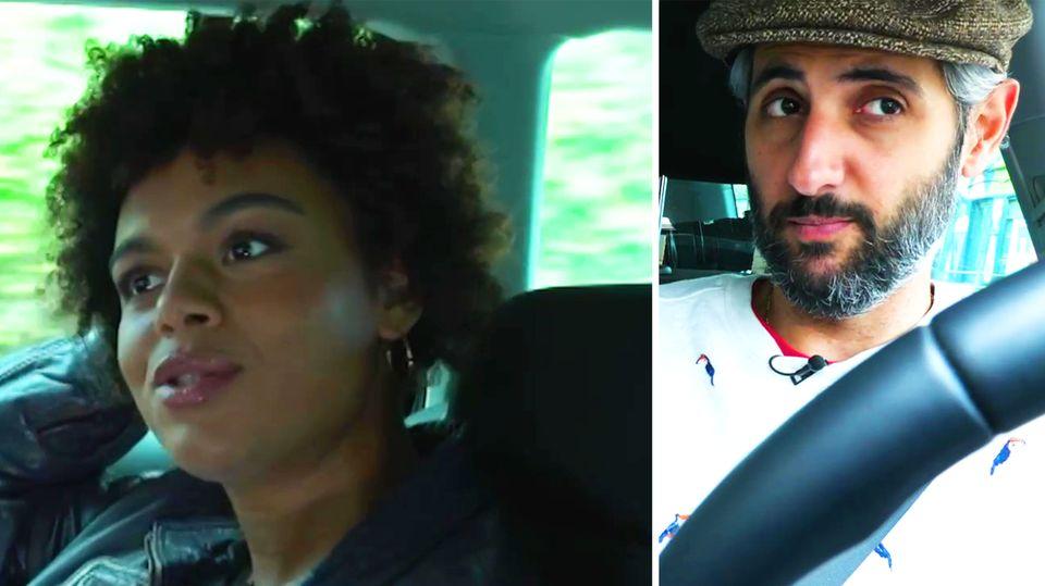 """""""Alman-Taxi"""" mit Moderatorin Daphne Sagner: """"Darf man Farbige noch sagen?"""""""