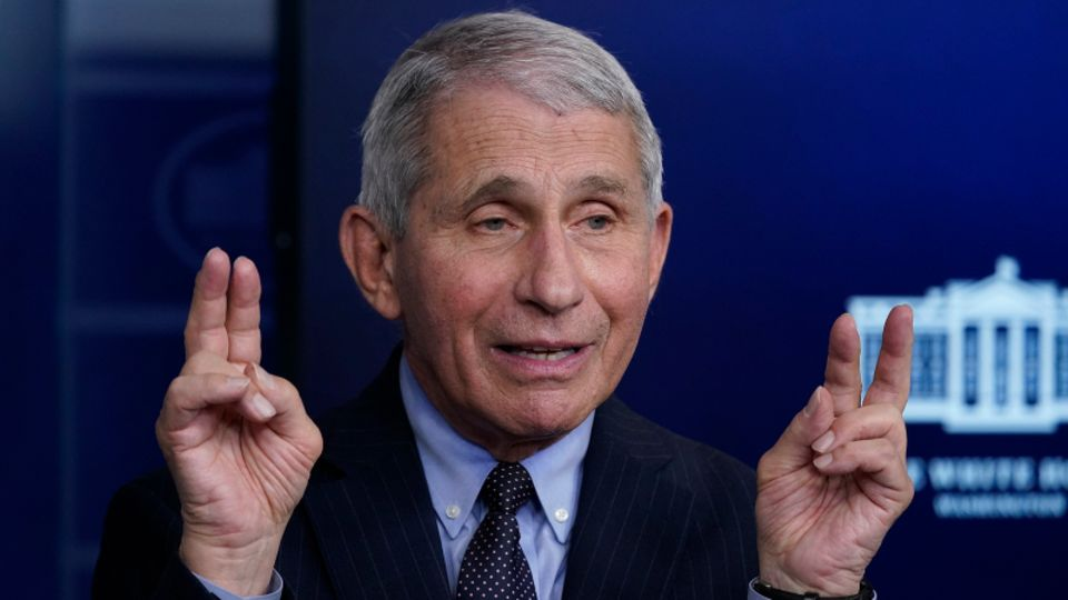 Anthony Fauci, Direktor des National Institute of Allergy and Infectious Diseases