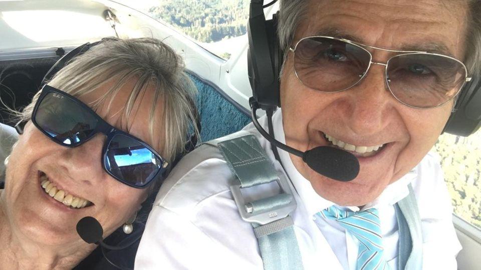 Zusammen im Cockpit