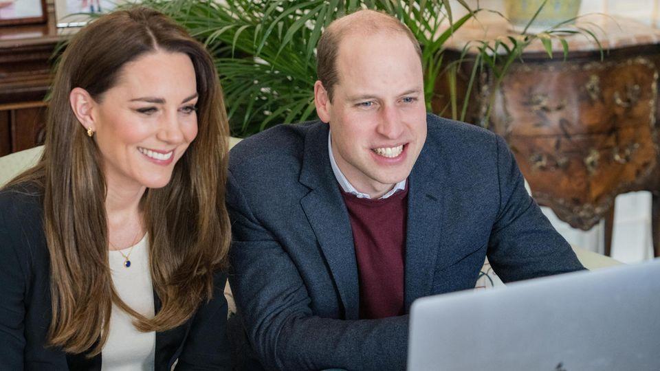 Premiere bei den Royals: Kate und William teilen erstmals TikTok-Video