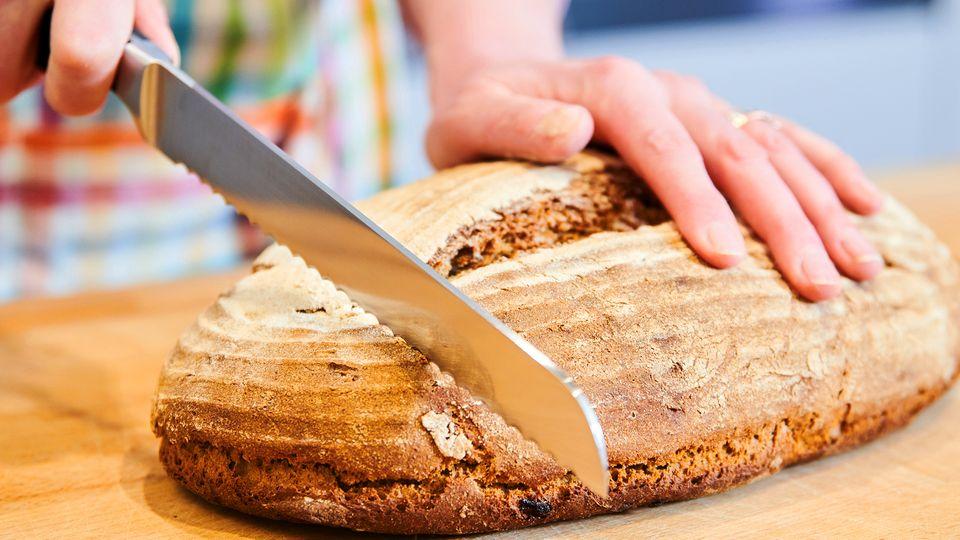 Brot backen (Symbol)