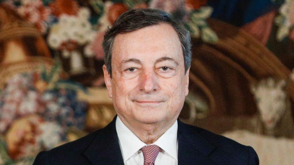 Mario Draghi, Ministerpräsident von Italien