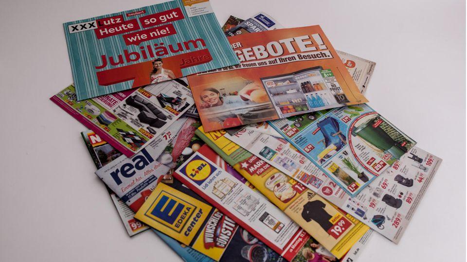 Saarland plant Werbeverbot: Werbeprospekte