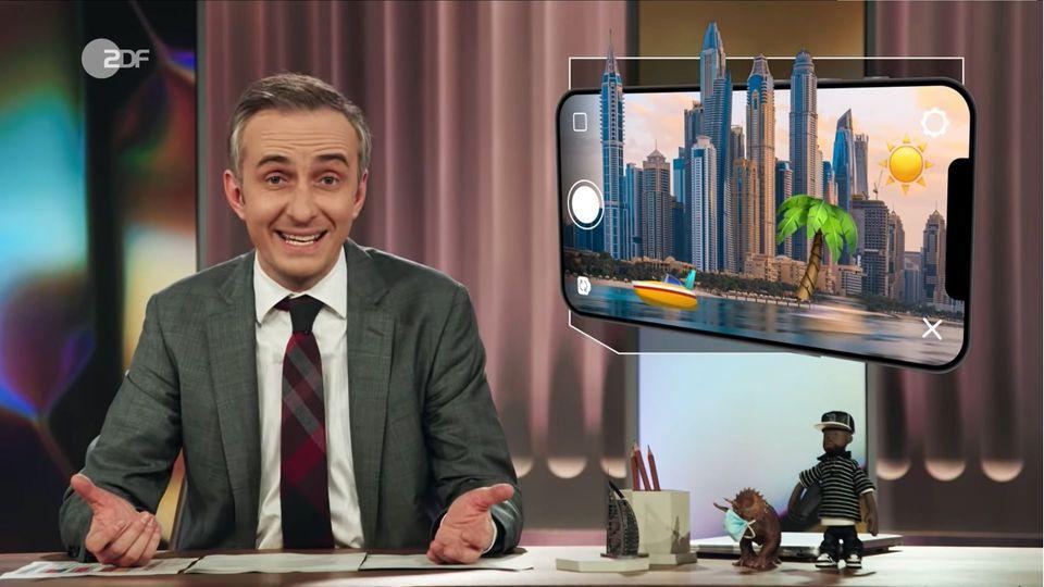 """In der jüngsten Ausgabe des """"ZDF Magazine Royale"""" hat es Jan Böhmermann auf die Dubai-Influencer abgesehen"""