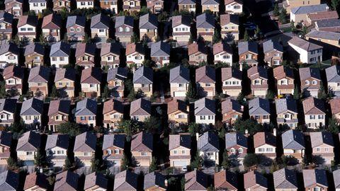 Vorstadtsiedlung in den USA
